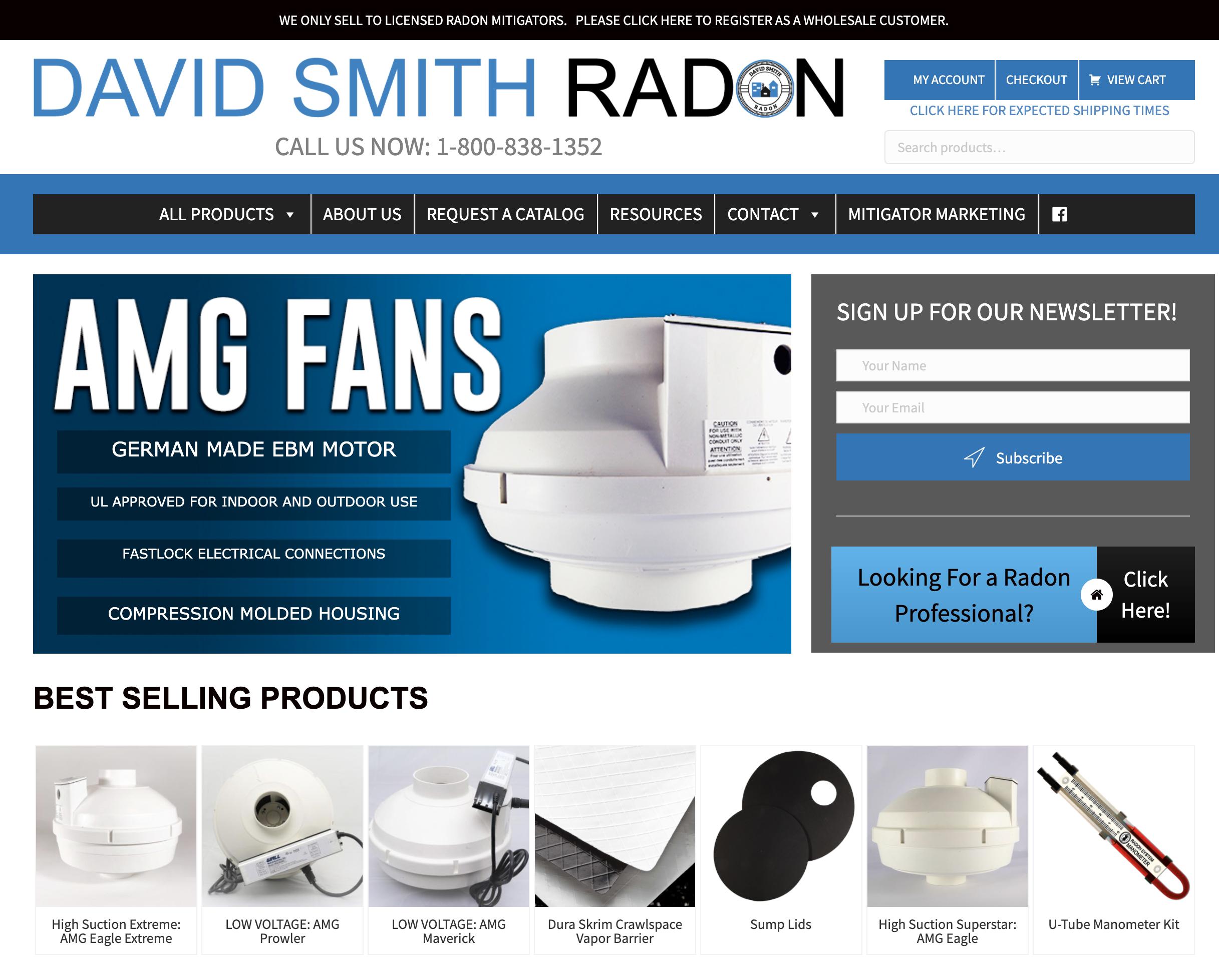 David Smith Radon